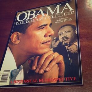 Collectable magazine Obama